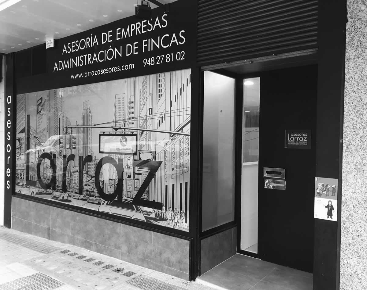 administración de fincas en Pamplona. Larraz